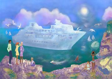 Литературный конкурс, посвященный 90-летию Чингиза Айтматова, «С мечтой о белом пароходе»